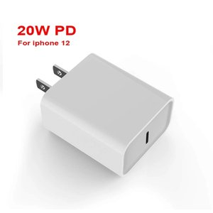 PD20W Fast Chargers for US EU Usb-c Port Travel Charger IPhone 12 Quick Charge Head High Quality White Color Power Adapter