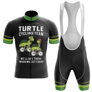 2021 Team Turtle Pro Cycling Jersey 19d Gel Bike Shorts Anzug MTB ROPA CICLISMO Herren Sommer Radfahren Maillot Culotte Kleidung