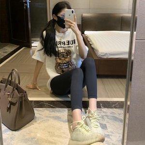 ASKG moda tasarımcısı Bayan Gymshark Yoga Suit Pamuk Sportwear Tracksuits Spor Tozluklar üç Piece sutyen t shirt Spor outf 3 pantolon set