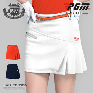PGM Golf Skirt Women Badminton High Waist Pleated Sport Wear Short Skirt Golf Clothing