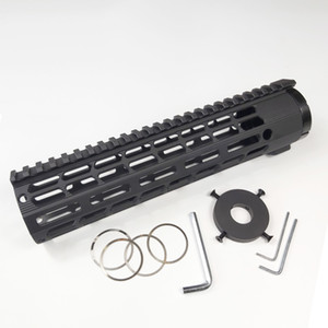 10 Inch Free Float Handguard m lok Handguard with Monolithic Top Rail Fits .308 7.62