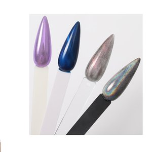 2020 Display Fake Nail Art Polish UV Gel Varnish Color Card Palette Practice Showing Stiletto Nail Swatches Sticks