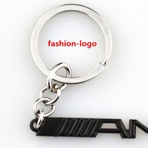 Auto Car Keychains Keyring Metal Key Chain Key Ring Holder For BMW M Power AMG Key Chain KeyRings Accessories
