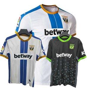 2020 2021 CD Leganés Soccer Jerseys 20 21 Sergio G. Braithwaite El Zhar Leganes الصفحة الرئيسية قميص كرة القدم S-2XL