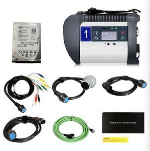 MB SD C4 Doip Plus MB Estrela Ferramenta de Diagnóstico com V2020.12 Xentry para Mercedes para Benz Software HDD / SSD