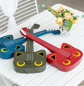 XMY 17 بوصة الاطفال غيتار القيثارة اللعب 4 سلاسل مصغرة الآلات الموسيقية تعليم التعليمية لعبة الصغار الأطفال اللعب المبتدئين
