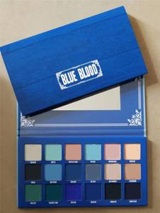 Cinq étoiles récent palette Blue Blood fard à paupières Maquillage 18 palette incinéré fard à paupières de couleur Shimmer Matte livraison gratuite de haute qualité