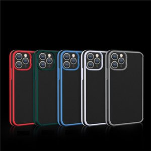For iPhone 12 11Pro X XS Max 8 7 Plus Cases Camera Protection Case shields luxury anti fall phone backe cover
