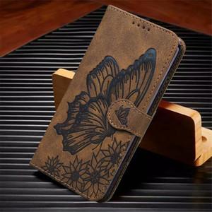 Retro Leather Wallet Flip Cover For Huawei P30 Lite Honor 8A 10 Lite Y5P Y6P P Smart Y5 Y6 2019 2020 2021