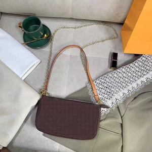 Luxusmode Marke Designer Classic Messenger Bag Handtasche Dame 3a + Hohe Qualität Handgriff Weiche Leder Umhängetasche FannyPack