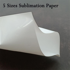 5 Sizes Shrink Film Sublimation Shrinkage Wraps Suitable 12oz 20oz 30oz Heat Transfer Skinny Tumbler Heat Resistant Shrink Wrap Paper