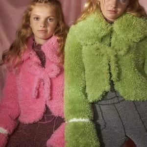 Kawaii manteau gothique fourrure manteau de fourrure punk sombre stre street rap esthétique y2k harajuku