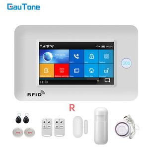 GAUTONE PG106 WIFI GSM Home Leflar Security System نظام إنذار Wireless Home 433MHz مع زر SOS Y1201