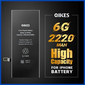High capacity battery For iPhone 6 6G batarya Replacement Real Capacity Mobile Phone Bateria Original High Capacity