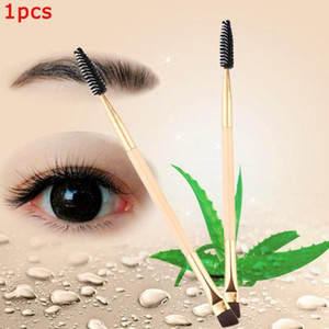 Double Head Eyebrow Brush Eyeshadow Makeup Brush Comb Powder Makeup Eyeliner Eyeshadow Brushes Tools W8X5