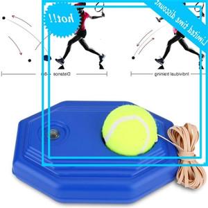 Plastic Practical trainer Comfortable grip Single self-study tennis training tools Equipment with ball 23x15x8.5cm