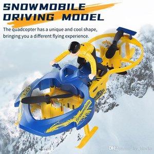 Vierachse RC Auto Spielzeug Modell F7 Snowmobile 2.4g Fernbedienung Vechile LED RC Drone Quadcopter RTF für Jungen Kinder Geschenk 07
