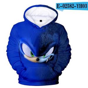 Sonic The Hedgehog 3D Kids Hoodies for Girls sonic Children's Sweatshirt for Boys Girls Sweat Shirt Child Boy Hoodies Clothes