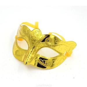 Klassische hochwertige neue bunte halbe Gesicht archaistische antike Maskenmaske Maskerade-Partymasken DHL-freies Verschiffen H094 210