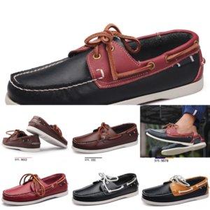 1ruxj nuovo Casl Casl Lead Child Shoe Leathershoes Italy Fashion Men Donne Open Designer Sneakers Stendi Borchie Genuine Colore piatto