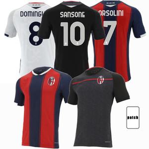 2020 2021 Bolonia FC 1909 Jerseys de fútbol Barrow Dominguez Orsolini Sansone Santander Hogar Alojamiento 3RD 20 21 Camisa de fútbol S-2XL