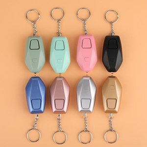 Personal Alarm 130dB Keychain USB Rechargeable, Safe Sound Alarm with Steady LED Light,Emergency Safe Alarm