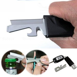 Edc Cutter Key Ring Multi Tool Pocket Screwdriver Bottle Opener Keyring Multipurpose Outdoor Kit Camp Multifunction Kydex Sheat bbyVlp