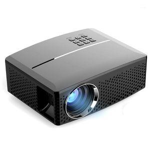 GP80 GP80UP LED Mini Taşınabilir Projektör Ev Sineması Desteği Full HD 1080 P 4 K Opsiyonel Android Bluetooth Kablosuz Wifi Beamer1