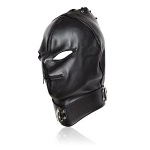 W1031 Sexy Mouth Adult Without Sexy For Elastic And Spandex Hood Toys Eyes Holes Couples Xgtme Mask Liiki