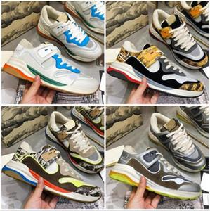 Sneakers Designer Sneakers di lusso da donna Sneakers a mano lucido e usato Vecchie scarpe sportive serie UltraPace Series Scarpe sportive TPU Dimensione inferiore 35-45