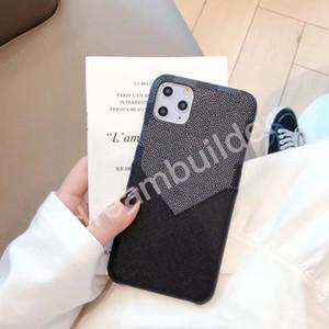L fashion iphone 12 pro max 11 pro max 7 8 plus x xr xs max pu кожаный чехол дизайнер корпус с картой