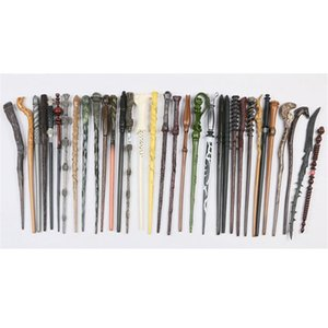 Creative Cosplay 34 Styles Hogwarts Harry Potter Series Magic Wand New Upgrade Resin Harry Potter Magical Wand