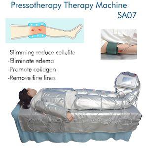 3 In 1 Far Infrared Pressotherapy Machine EMS Electric Muscle Stimulation Sauna Air Pressure Lymph Drainage Body Shaping Machine