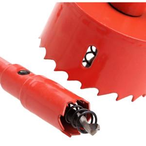 16mm-50mm Drill Bit Hole Saw Twist Drill Bits Cutter Power Tool Metal Holes Drilling Kit Carpentry Tools sqcYPT new_dhbest