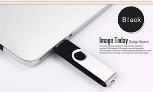 Großhandel OTG USB-Flash-Laufwerk 256MB Farbe Rotary Pen Drive Memory Stick Free Custom Logo Multi-Color USB Pendrive SMA JLLAER Allguy