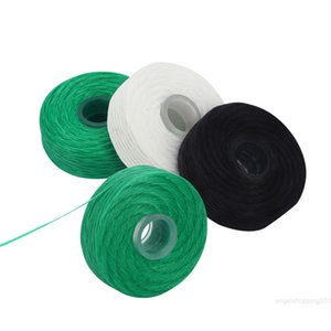 20Rolls White Bamboo Charcoal Built-In Spool Wire 50M Toothpick Flosser Mint Flavor Replacement Core Dental Floss