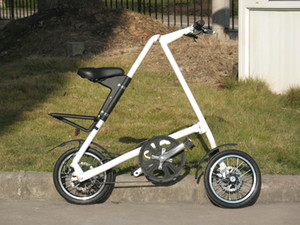 Folding bicycle, lightweight bicycle, fashion folding bicycle