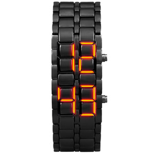 Aidis youth sports watches waterproof electronic second generation binary LED digital men's watch alloy wrist strap watch 201125