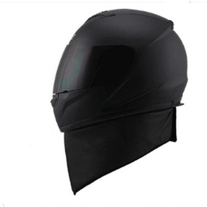 moto Helmets Full Face Motorcycle Helmets DOT Approved With removed neckerchief four season Sun Shield Attached Clear Visor