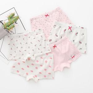 3-Piece Boxed Children's Underwear Cotton Girls' Shorts Cartoon Cotton Children's Boxer
