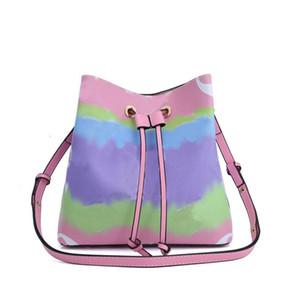 Women designer luxury handbags purses new Escale NéoNoé bucket bag New fashion tote bag crossbody messenger shoulder bags genuine leather