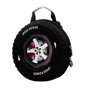 3D Car Tire Children Schoolbag Lovely Kids small Backpack EVA Wheel Kindergarten Bag age 3-5 Baby boys girls Toddler School Bag LJ201225