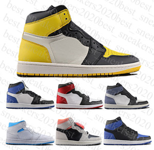 2020 Кроссовки Jumpman 1 Высокий Баскетбол 1S Кроссовки Топ Ретро Качество Мужская Женская Обувь Без Обувь Коробка Size40-46