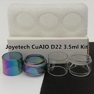 JOYETECH CUAIO D22 3.5ML комплект Нормальная трубка чистая замена стеклянной трубки прямой стандартный 3шт / коробка розничная упаковка