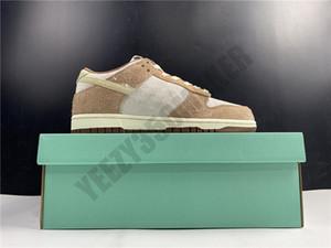 2021 Low Pro PRM Médio Curry Pato Leite Chá Skates Sapatos Homens Moda Confortável Ao Ar Livre Homem Womans Trainer Sneakers DD1390-100 36-47