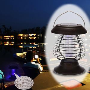 0.3W Solarbetrieben UV-Bug Zapper Repellant-Schädlings-Insekt-Moskito-Killer führte Gartenlampe und Laterne für Campingwanderungen