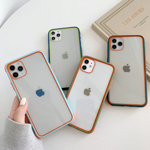 phone cases For iphone 12 pro max case For iphone 12 mini 5.4 Mobile Back Cover pc tpu with opp bags C