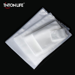 Tintonlife 100pcs lot Vacuum Bags for Food Vacuum Sealer Bag Packing Machine Food Storage Bag With Food Grade Material FY7407
