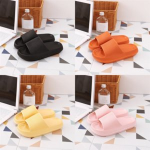 YWE2k comfortable pig Couple Pure Color Nose slipper lady H slippers the leather summer outside Slip classic The Home Furnishing one-word