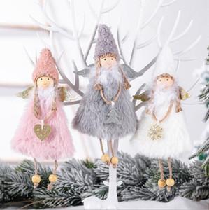 뜨거운 새로운 사랑 천사 크리스마스 장식 크리 에이 티브 크리스마스 트리 펜던트 어린이 선물 홈 인테리어 DHL 무료 배송